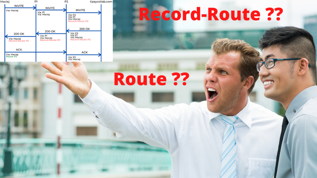 What The F-Heck AreRoute and Record-Route SIP Headers??